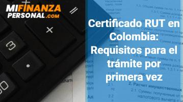Certificado RUT en Colombia