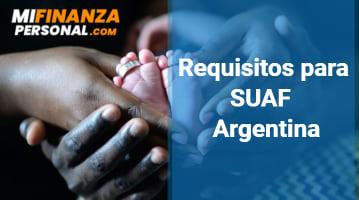 Requisitos para SUAF