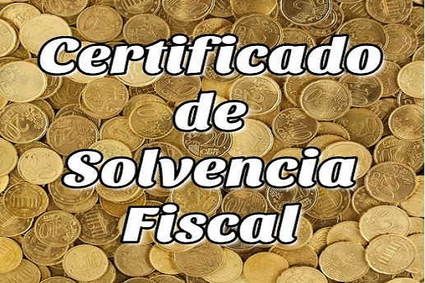 Certificado de Solvencia Fiscal