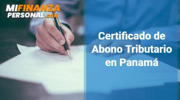 Certificado de Abono Tributario