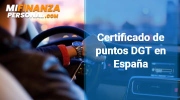 Certificado de puntos DGT