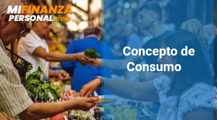 Concepto de Consumo