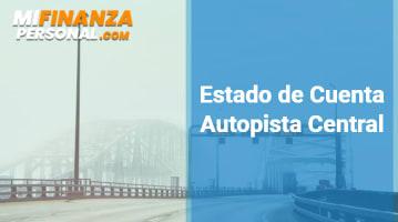 Estado de Cuenta Autopista Central