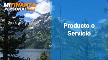 Producto o Servicio